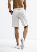 Tapered Fit Shorts - Khaki