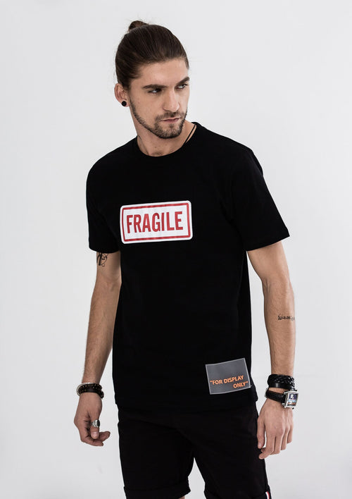 Fragile T-Shirt - Black