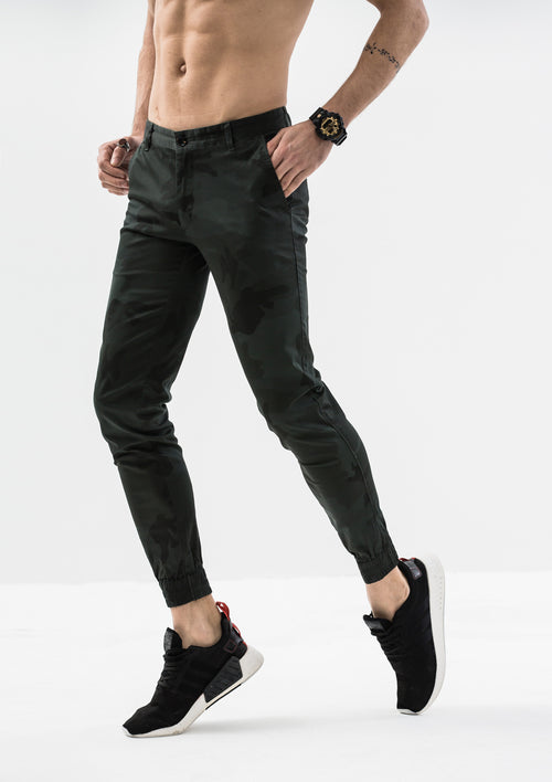Artemis Jogger Pants - Green