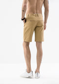 Side Details Shorts - Khaki