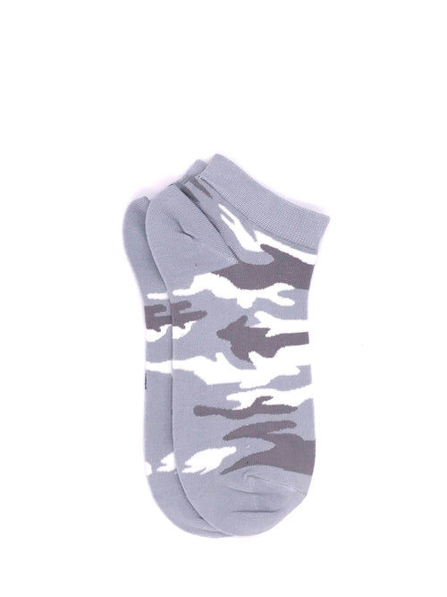 Ankle Camou Socks - Heather
