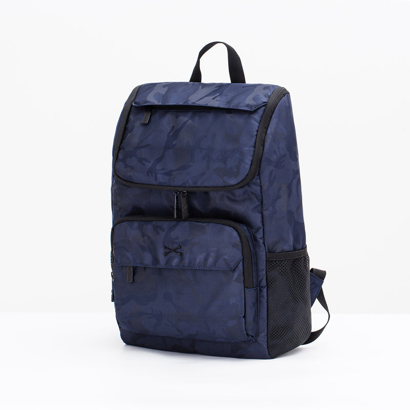 Hamlin Backpack - Blue Camo