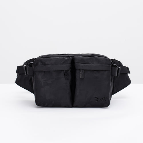 Hank Hip Pack - Black Camo