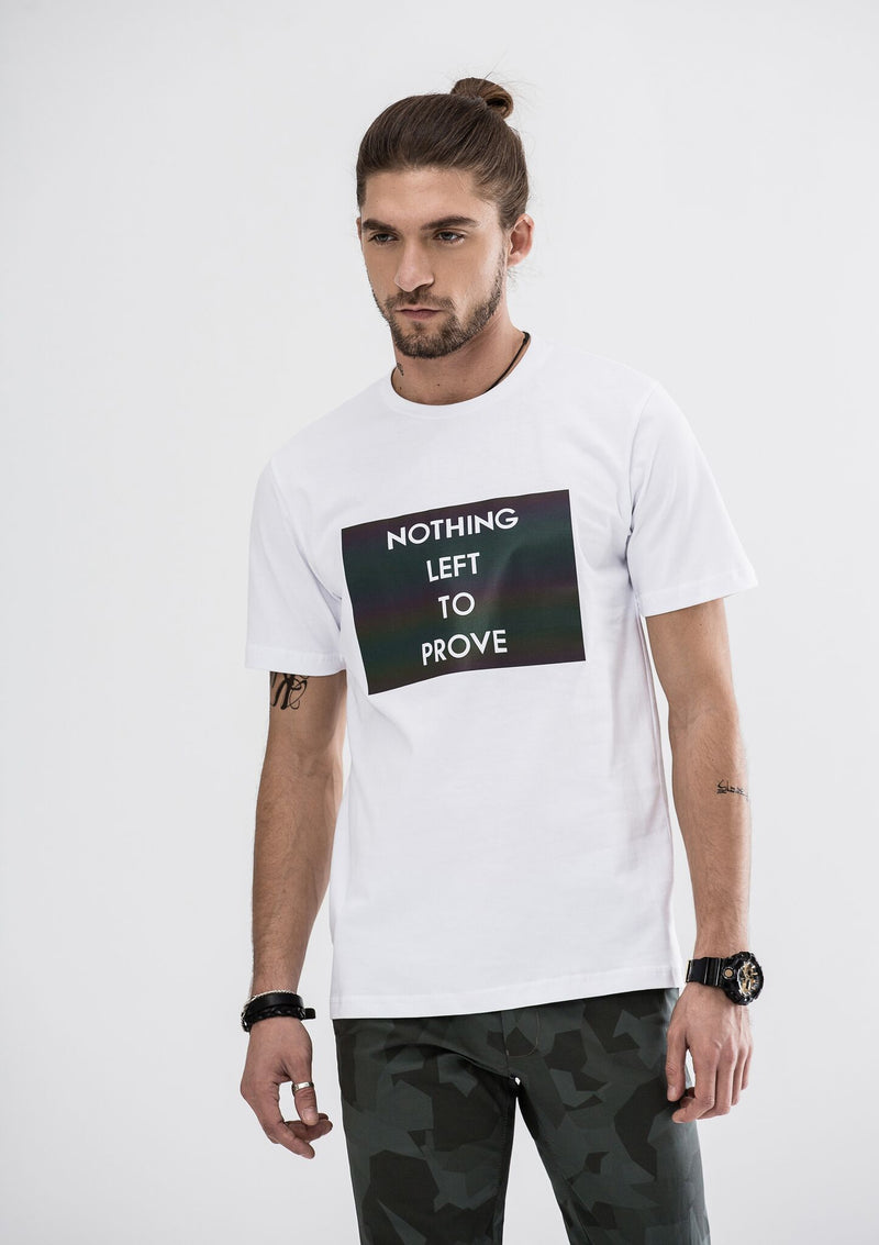 Nothing Left To Prove T-Shirt - White