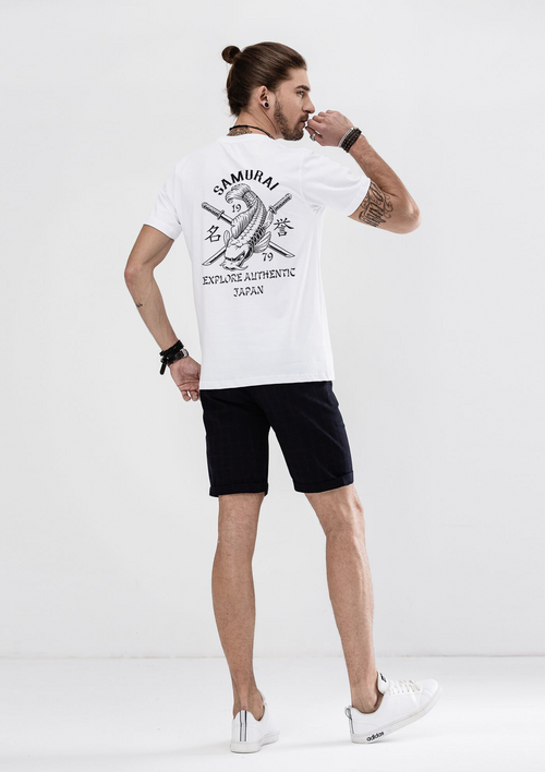 Samurai T-Shirt - White