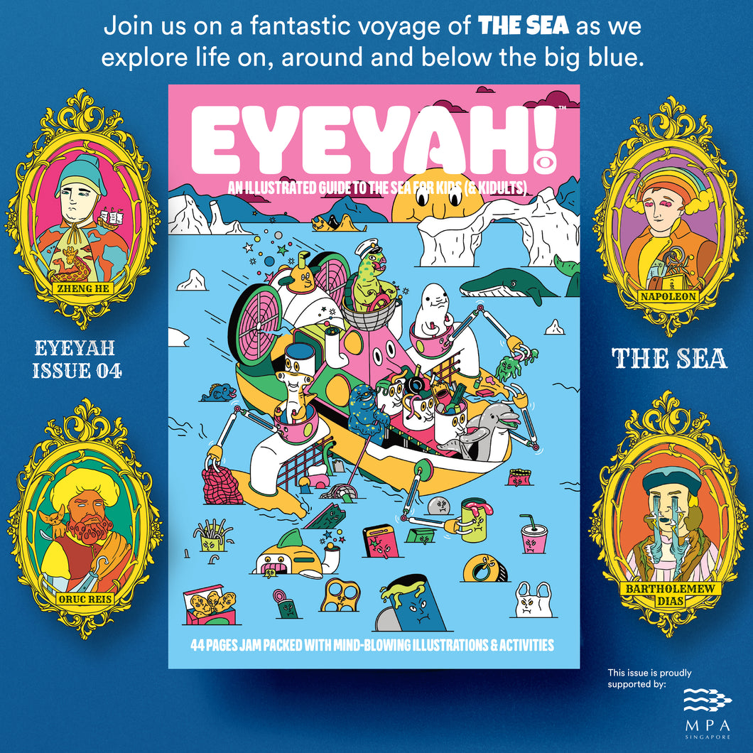 EYEYAH! Issue 04 - Sea