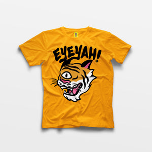 Big Tiger Tee (White/Yellow)