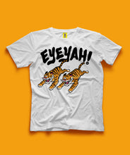 Eye of the Tiger Tee (White/Yellow)