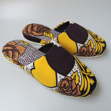 Medium [25cm] : Batik Mix Slippers (Vintage Heart♥Rose#2)  HM - Heiwa Slipper