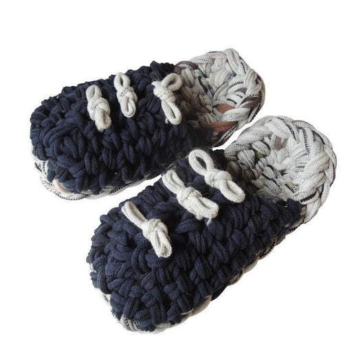 Knit upcycle slippers #5-2019 - Heiwa Slipper