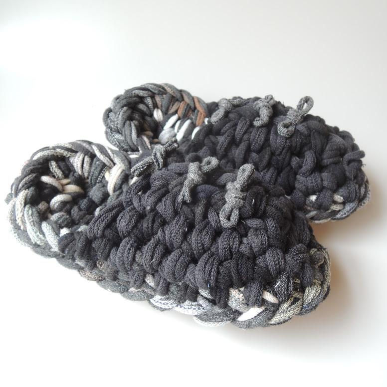 Knit upcycle slippers #2-2019 - Heiwa Slipper