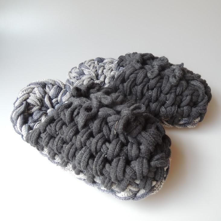 Knit upcycle slippers #4-2019 - Heiwa Slipper