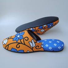 Medium & Large (2sizes) / Batik Mix Slippers [vinyl sole] (After the slippers of summer have gone)【JP25cm/27cm】HM - Heiwa Slipper