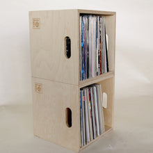 Load image into Gallery viewer, Birch Plywood LP Storage Box