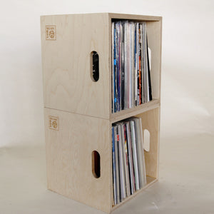 Birch Plywood LP Storage Box