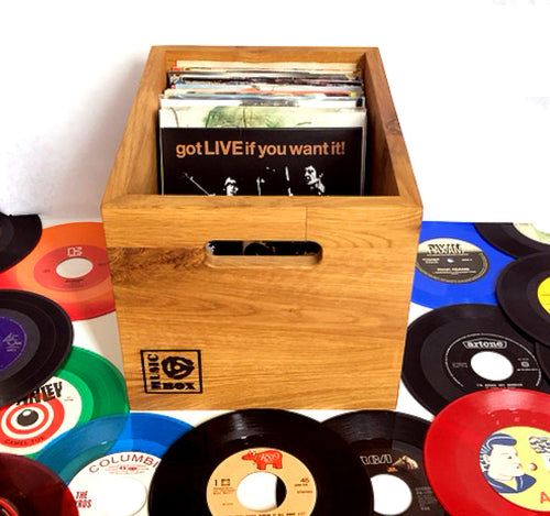 7 inch Vinyl Storage Box- 'Singles Going Steady'