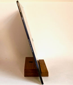 "Record Display Stand ""Groove"""