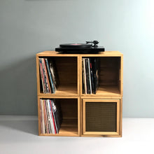 Load image into Gallery viewer, The Amp Box Stripped- LP Storage