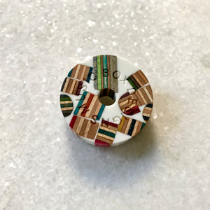 Exclusive Limited Handmade 45 rpm Record Adapters- Reclaimed Skateboards and Epoxy Resin