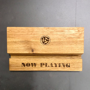 The Music Box-Oiled Oak LP Storage  Box Set Gift Pack
