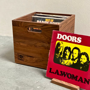 Walnut LP Storage Music Box- Limited Run