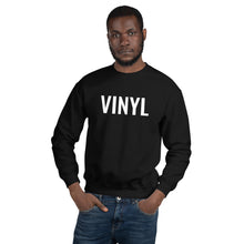 "Load image into Gallery viewer, ""The Vinyl"" Unisex Black Sweatshirt"