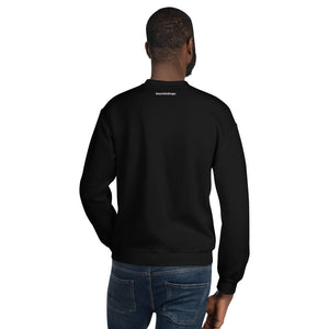 """The Vinyl"" Unisex Black Sweatshirt"