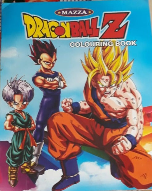 Dragon Ball Z Colouring Book