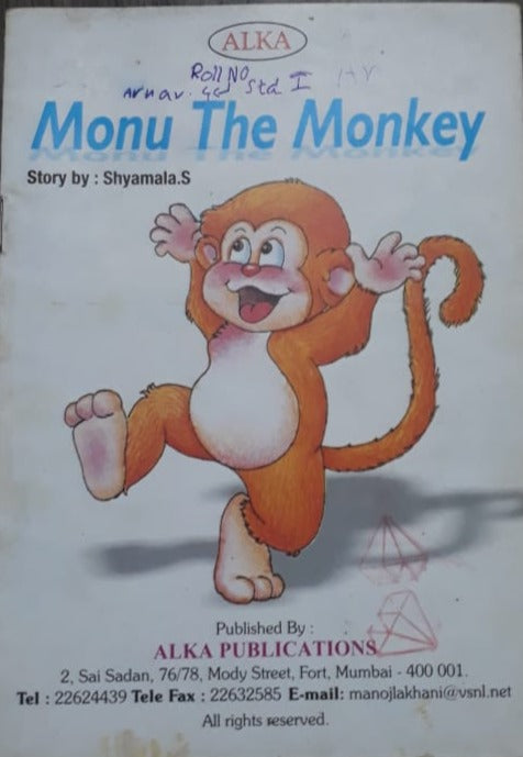 Alka - Monu the monkey Easy to Read stories