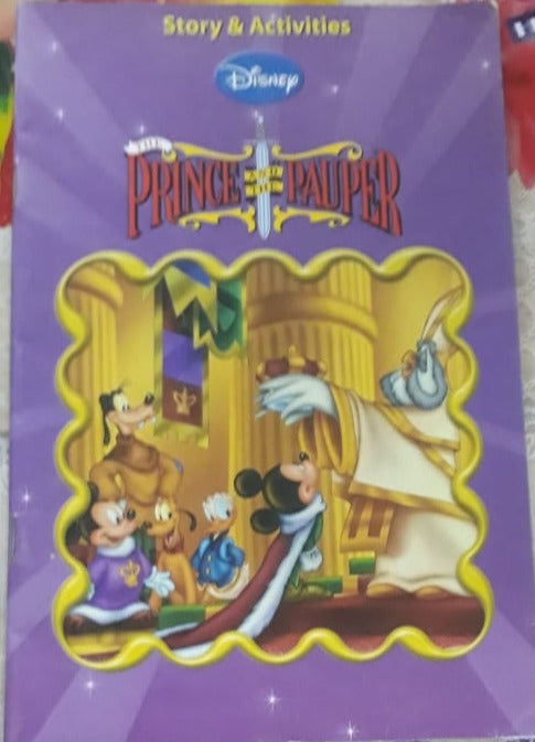 Disney Stories and Activities - Prince and Pauper