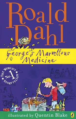 George's Marvellous Medicine: Jackanory by Roald Dahl