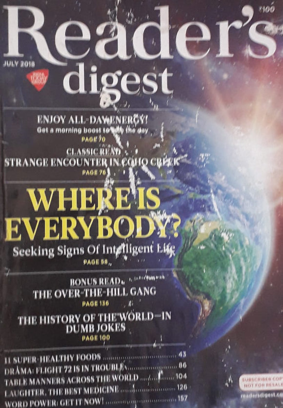 Reader's Digest July 2018