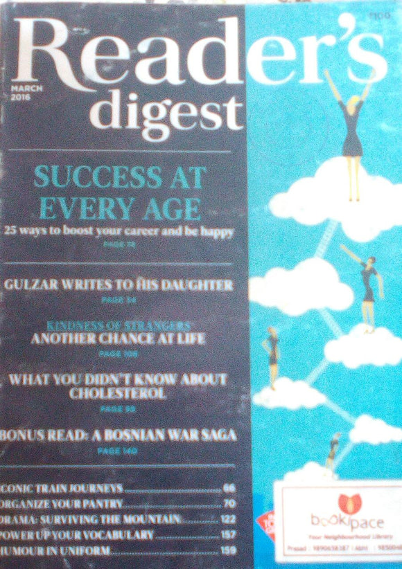 Reader's Digest India March 2016