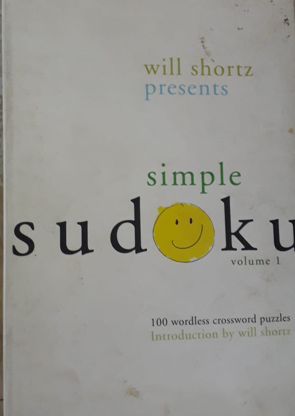 Simple Sudoka by Will Shortz