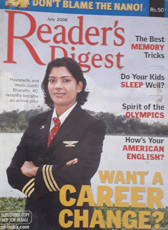 Reader's Digest July 2008