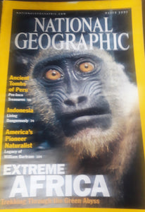 National Geographic March 2001