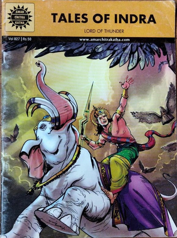 Amar chitra Katha : Tales of Indra lord Of Thunder :Vol 827