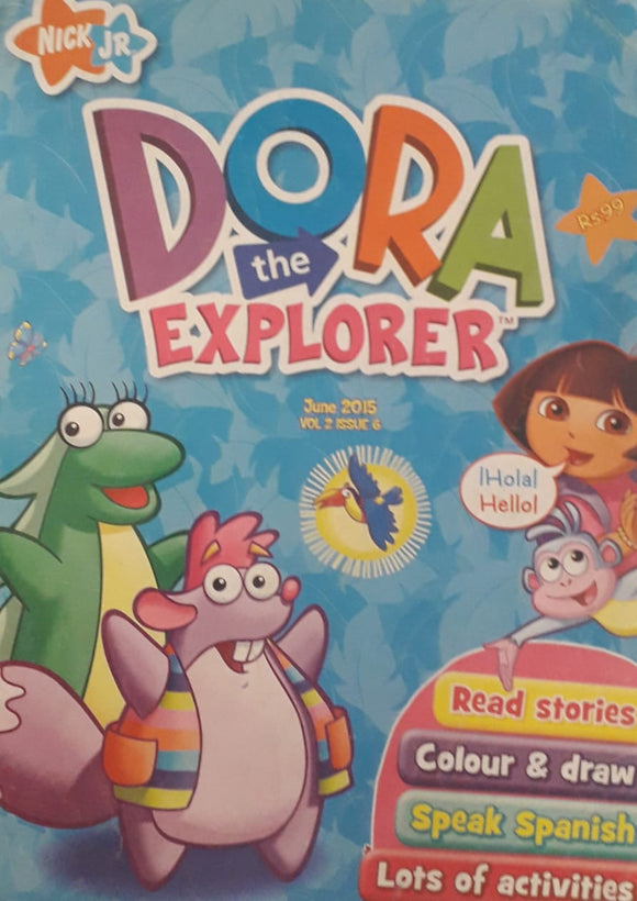 Dora The Explorer June 2015