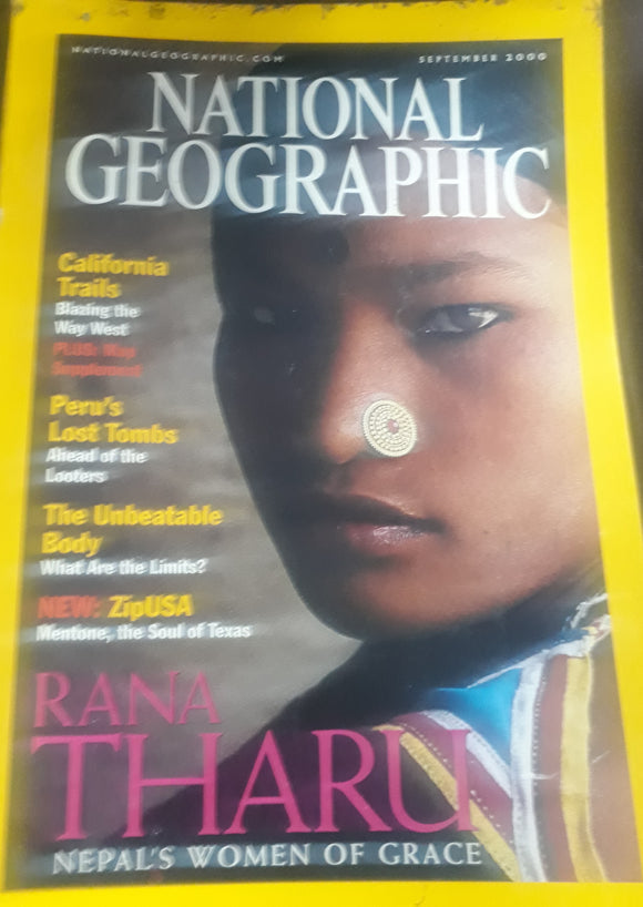 National Geographic September 2000