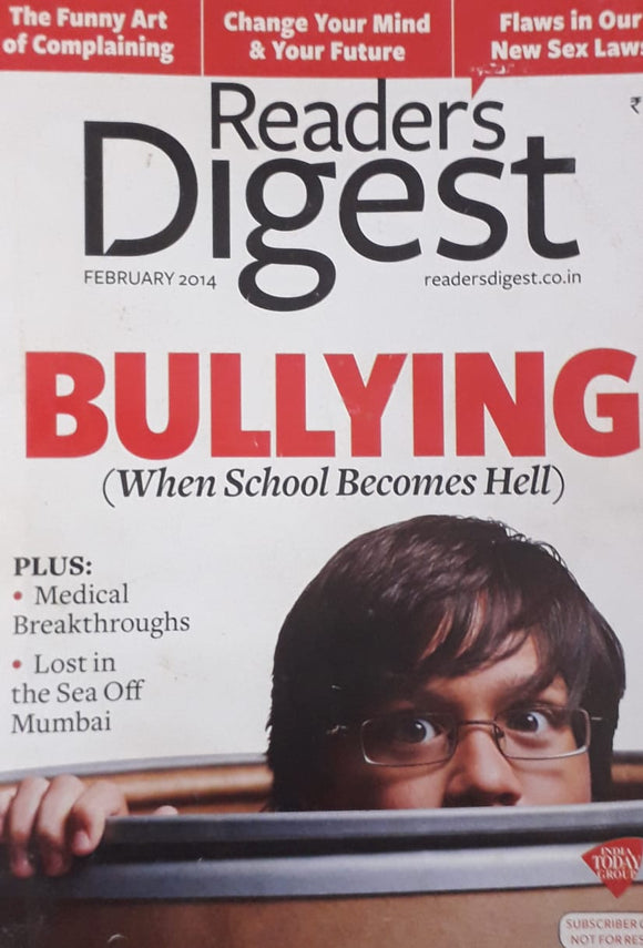 Reader's Digest February 2014