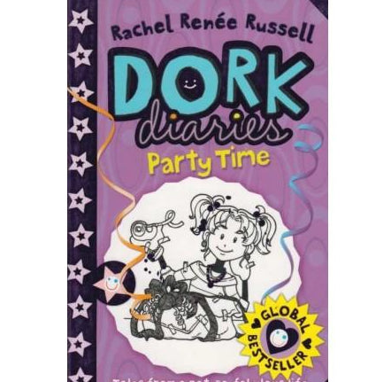 Dork Diaries Party Time  by Rachel Rence Russell
