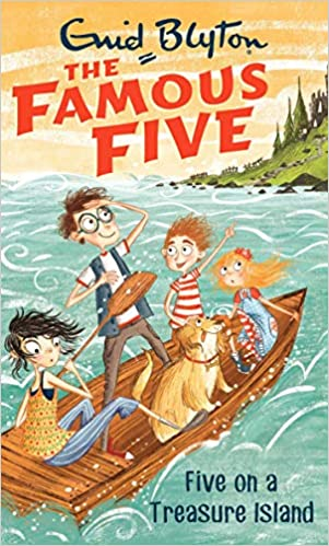 Five On A Treasure Island: Book 1 (The Famous Five Series) by Enid Blyton