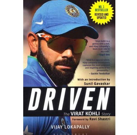 Driven The Virat Kohli Story  by Vijay Lokapally
