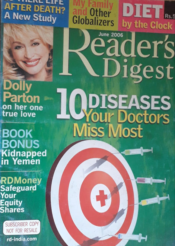 Reader's Digest June 2006
