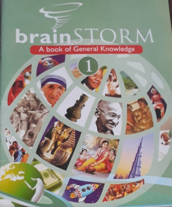 Brain Storm A book of GK 1