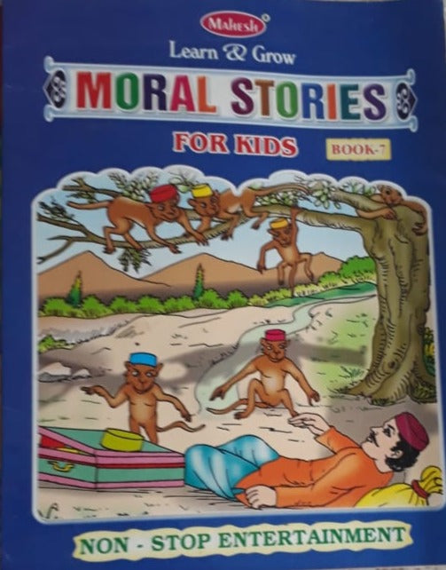Learn and Grow - Moral Stories for kids Book 7
