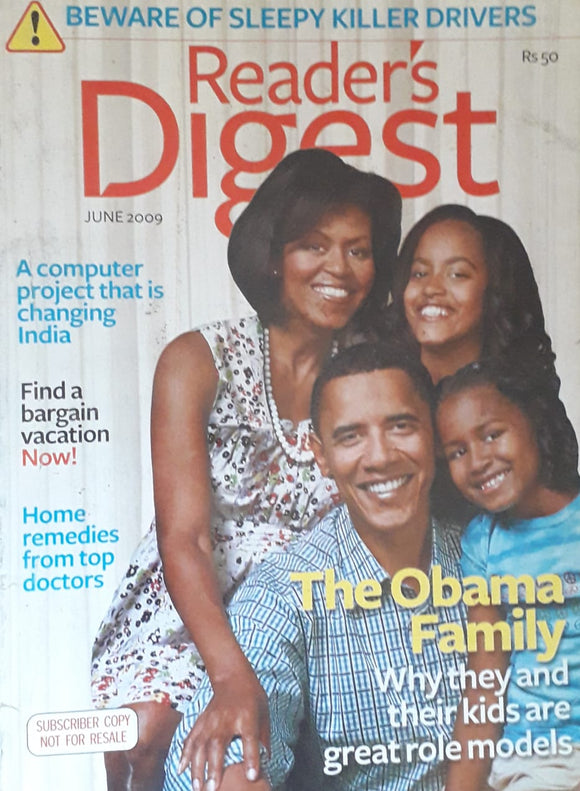 Reader's Digest June 2009