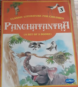 Classic Literature For Children -  Panchatantra Book 3 (A Set of 5 Books)