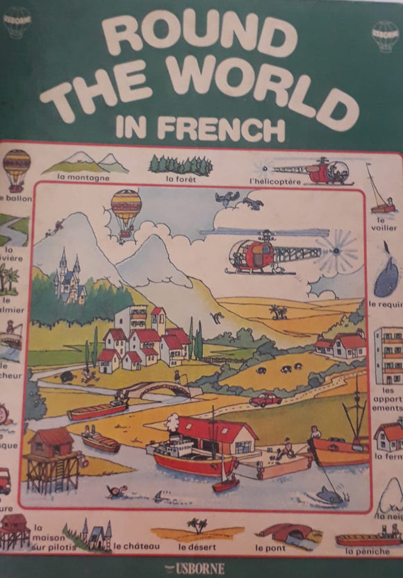 Round The World In French by Carol Watson