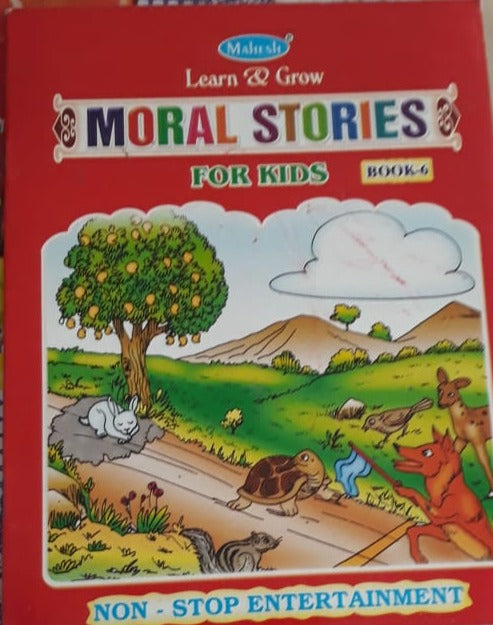 Learn and Grow Moral Stories For Kids Book 6